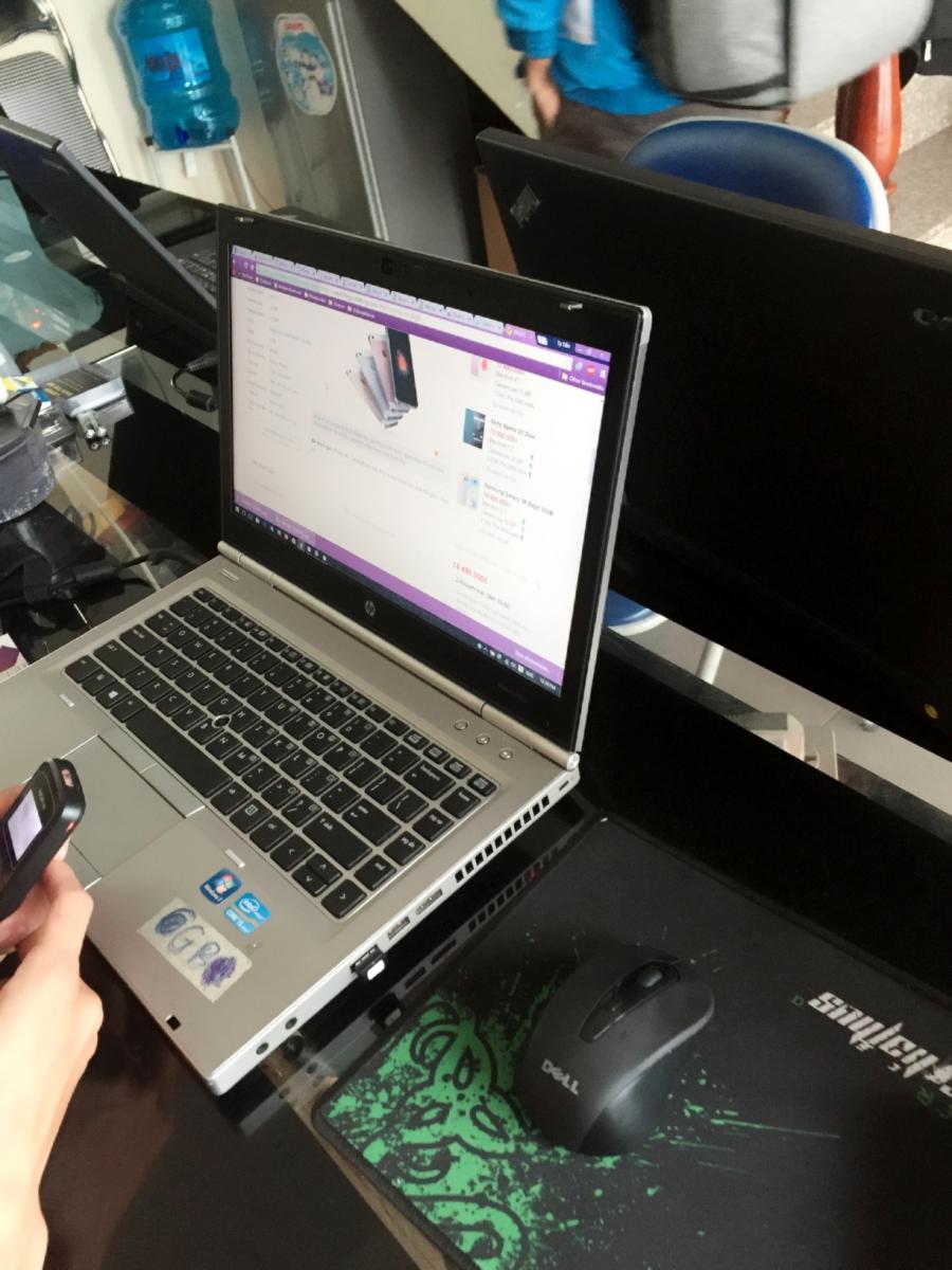 HP Elitebook 8460P-14 1 inch core i7 card rời 2620M 4G SSD120G