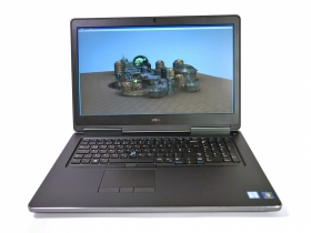 Dell Precesion 7710 Máy Trạm Đồ Họa i7-6820HQ, RAM 16GB, SSD 512, M3000M-4GB, 17.3in